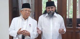 Kiai Ma'ruf dan Habib Jafar Al-Kaff.