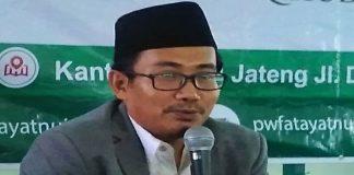 Sekretaris PWNU Jateng KH Hudallah Ridwan.
