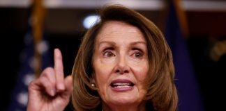 Ketua DPR Amerika Serikat dari Partai Demokrat, Nancy Pelosi.