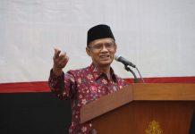 Ketua Umum Pimpinan Pusat Muhammadiyah, Haedar Nashir.