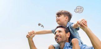 Ilustrasi Ayah dan Anak. Foto net.